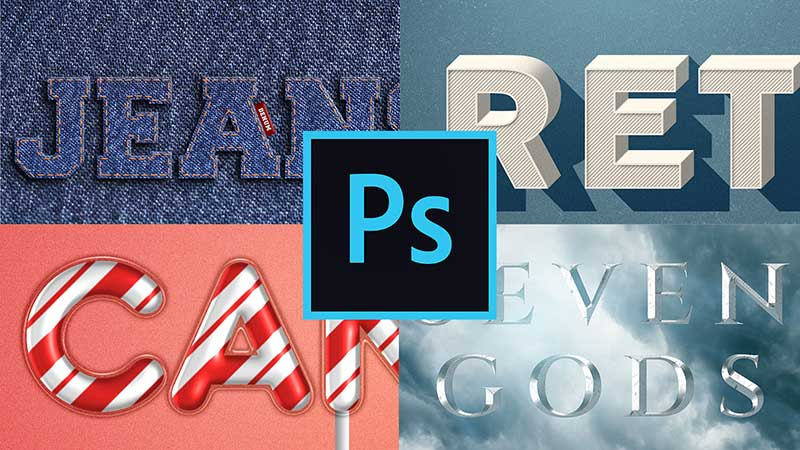 Photoshop Effects Create Amazing Text Effects