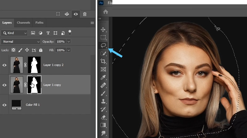 how to remove edge halo in Photoshop