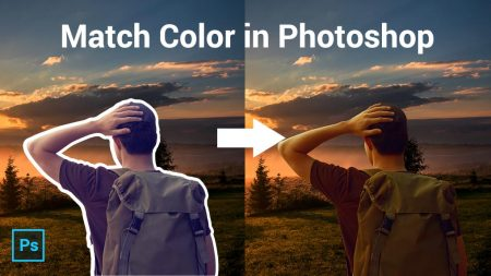 2 Powerful techniques to quickly match your subject to a background in photoshop