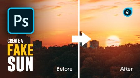 How To Add a Realistic Fake Sun To Your Images in Photoshop