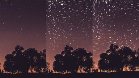 create star trails in photoshop
