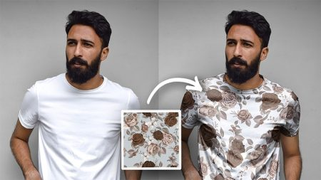 how to Apply Pattern to Clothing in Photoshop