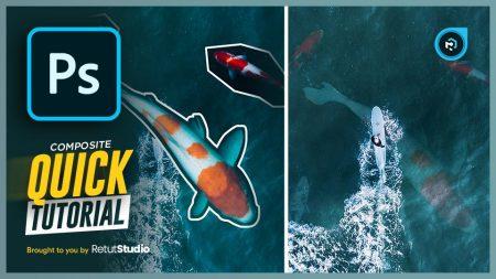 underwater effect in photoshop